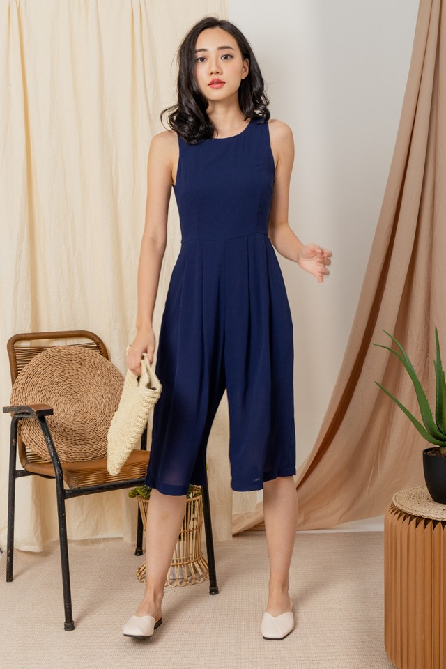 Karla Jumpsuit Navy