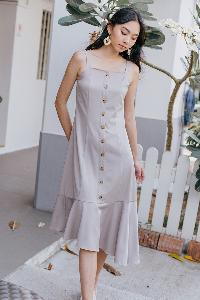 Azaria Dress Almond
