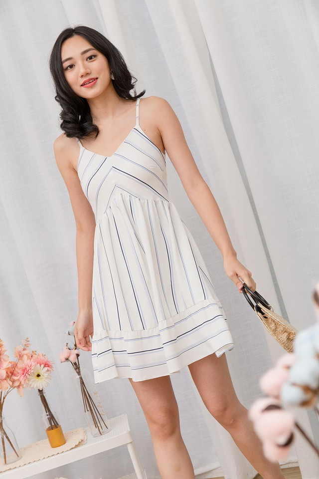 Karly Dress Stripes