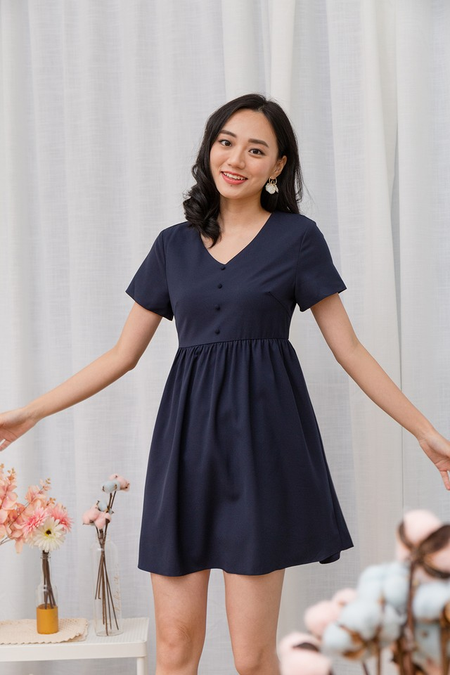 Cathal Dress Navy