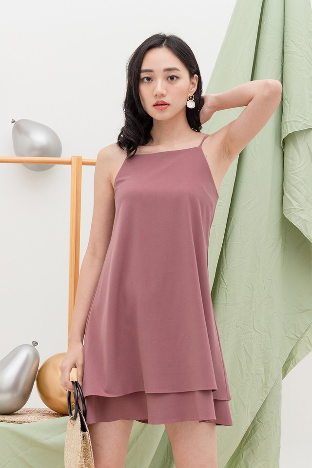Vinny Dress Mauve