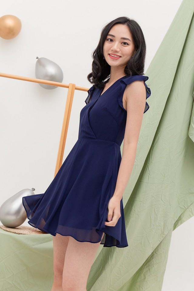 Camita Dress Navy