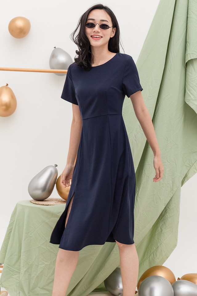 Sharie Dress Navy
