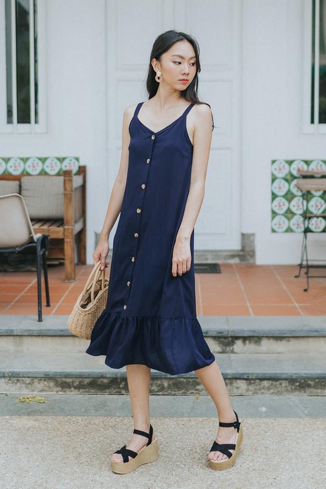 Marsha Dress Navy