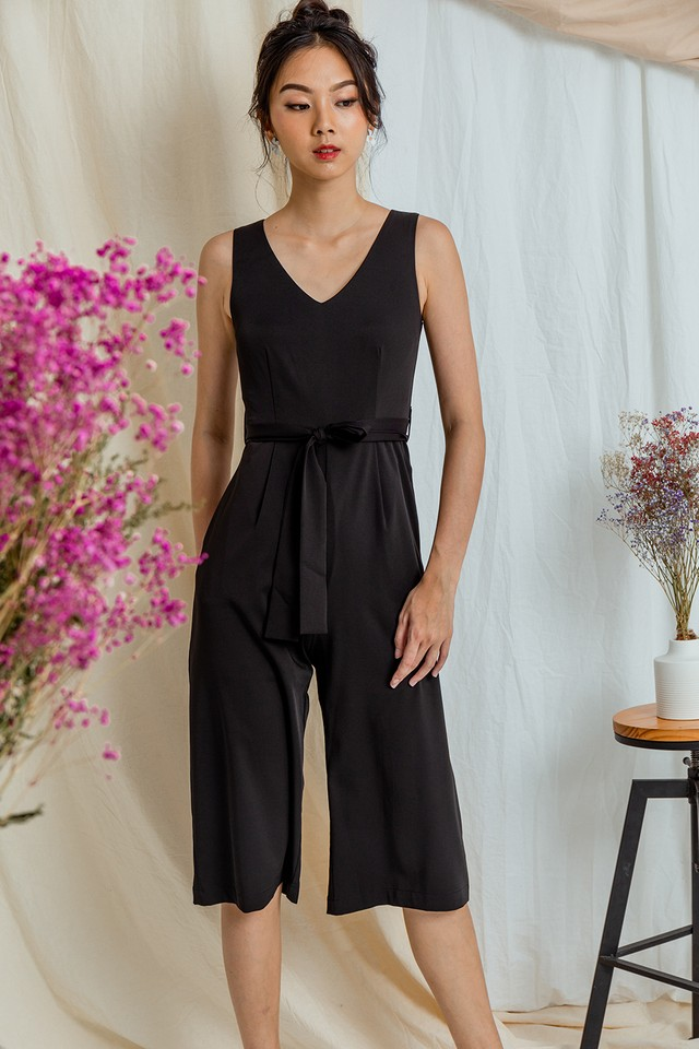 Jorja Jumpsuit Black