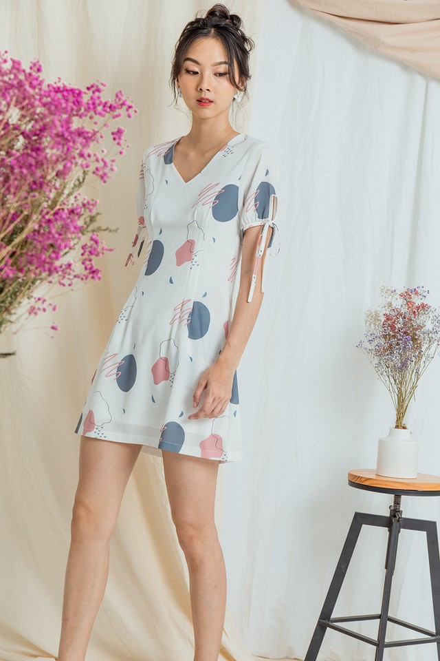 Yves Dress Abstract