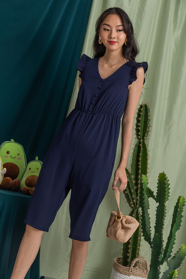 Emmalyn Jumpsuit Navy