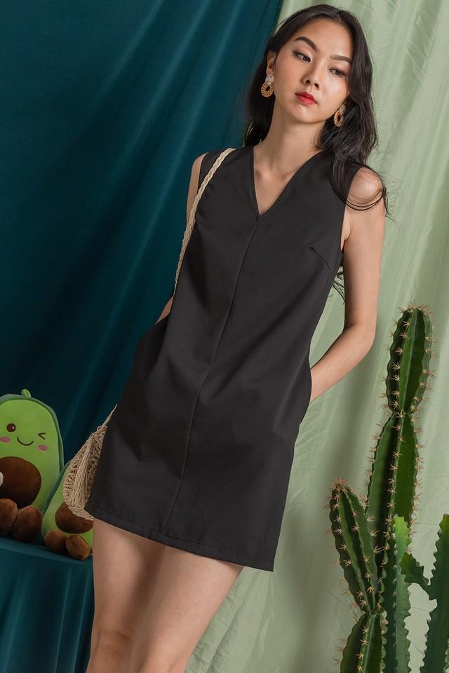 Halona Dress Black
