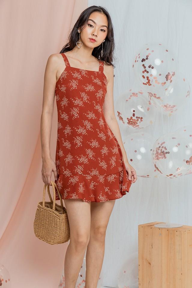 Irinna Dress Mandarin Floral