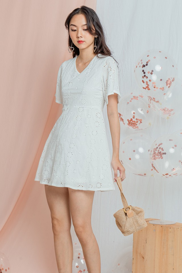 Rocco Crochet Dress