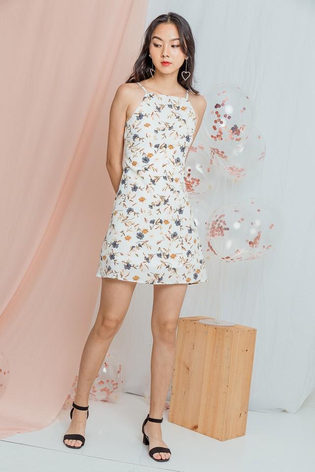 Amia Dress White Floral