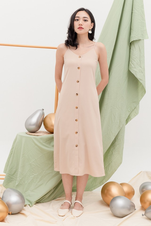 Allya Dress Almond
