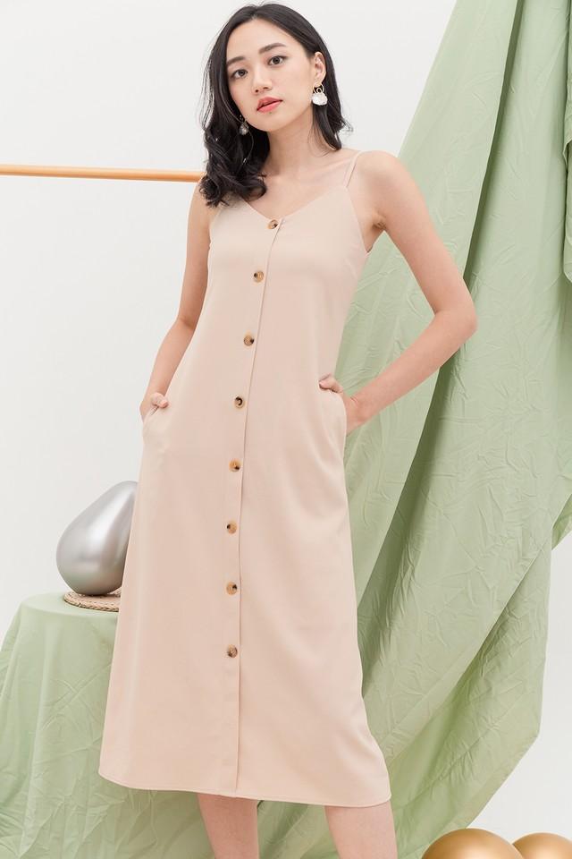 Allya Dress Almond