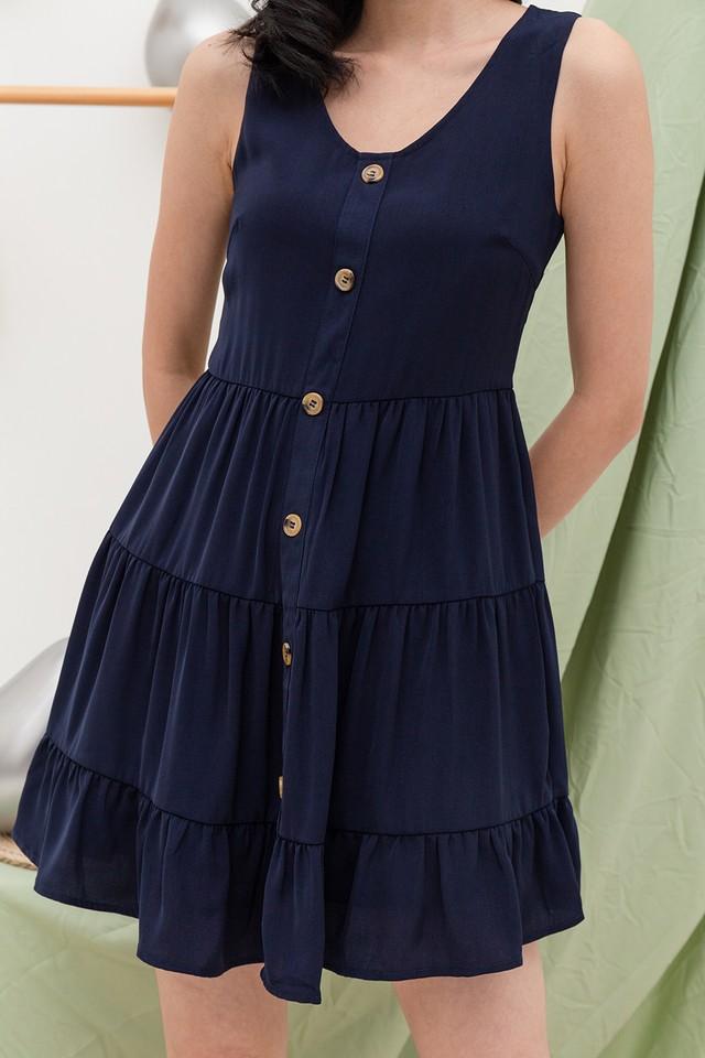 Demeter Dress Navy