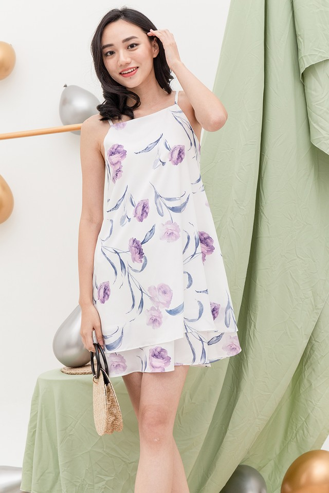 Sable Dress White Floral