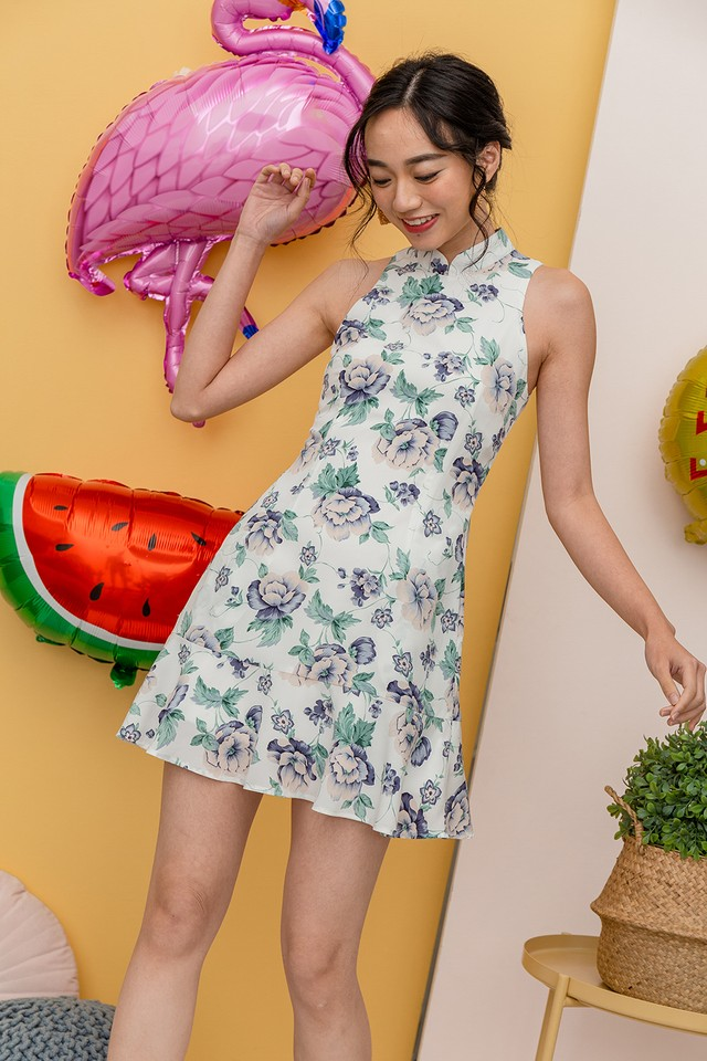 Bettina Dress White Floral