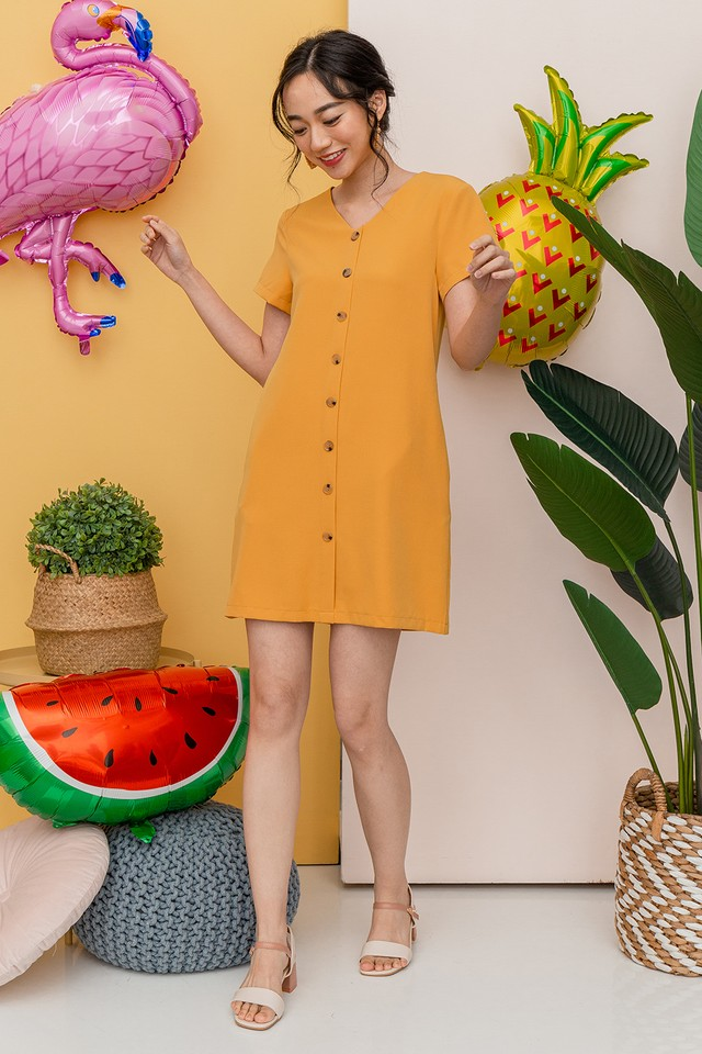 Louella Dress Mustard