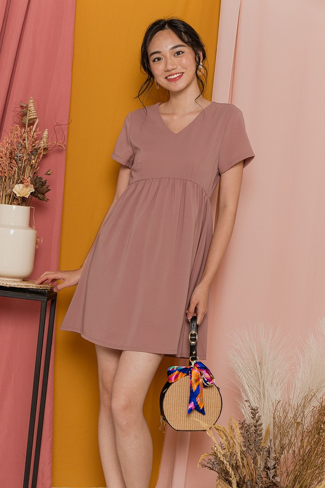 Lessa Dress Dusty Pink