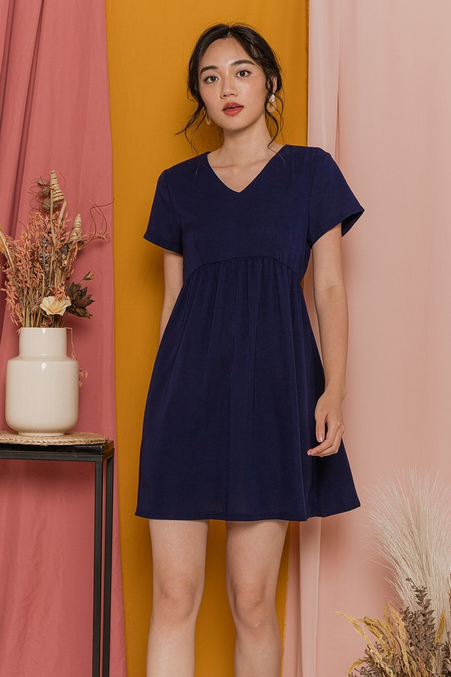 Lessa Dress Navy