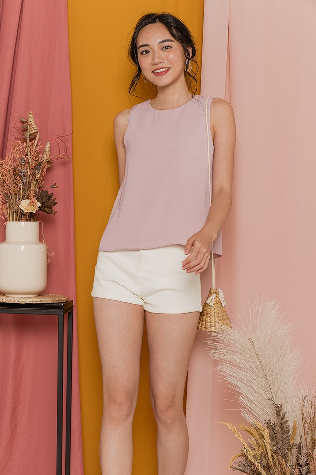 Charlize Top Pastel Pink