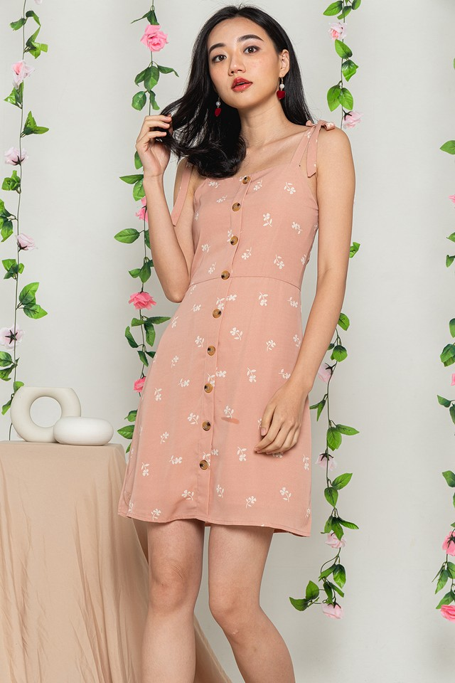 Janiza Dress Pink Floral