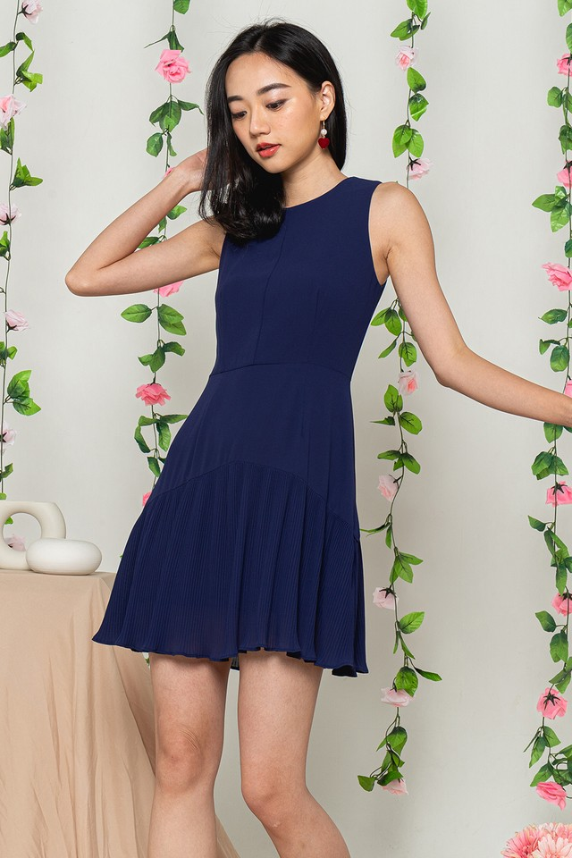 Averie Dress Navy