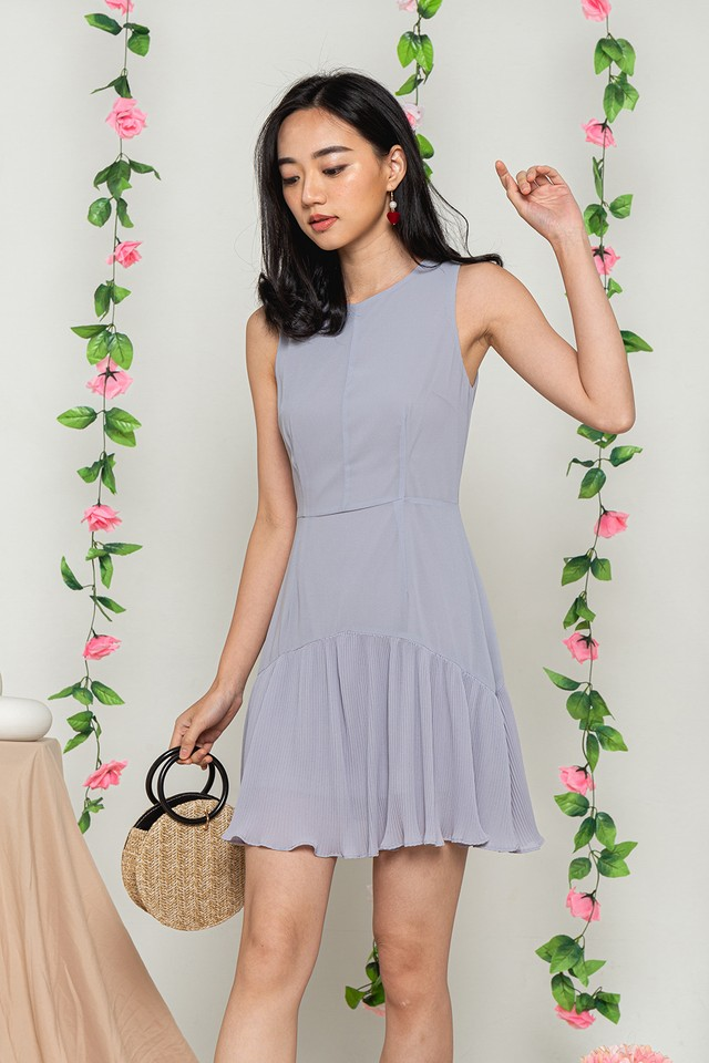 Averie Dress Grey