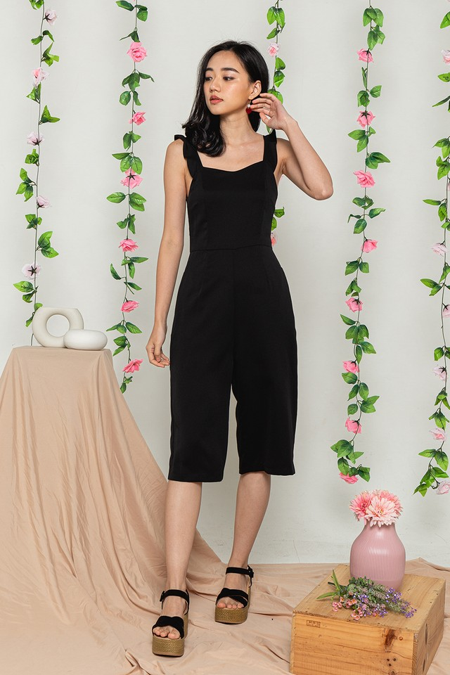 Tiarra Jumpsuit Black