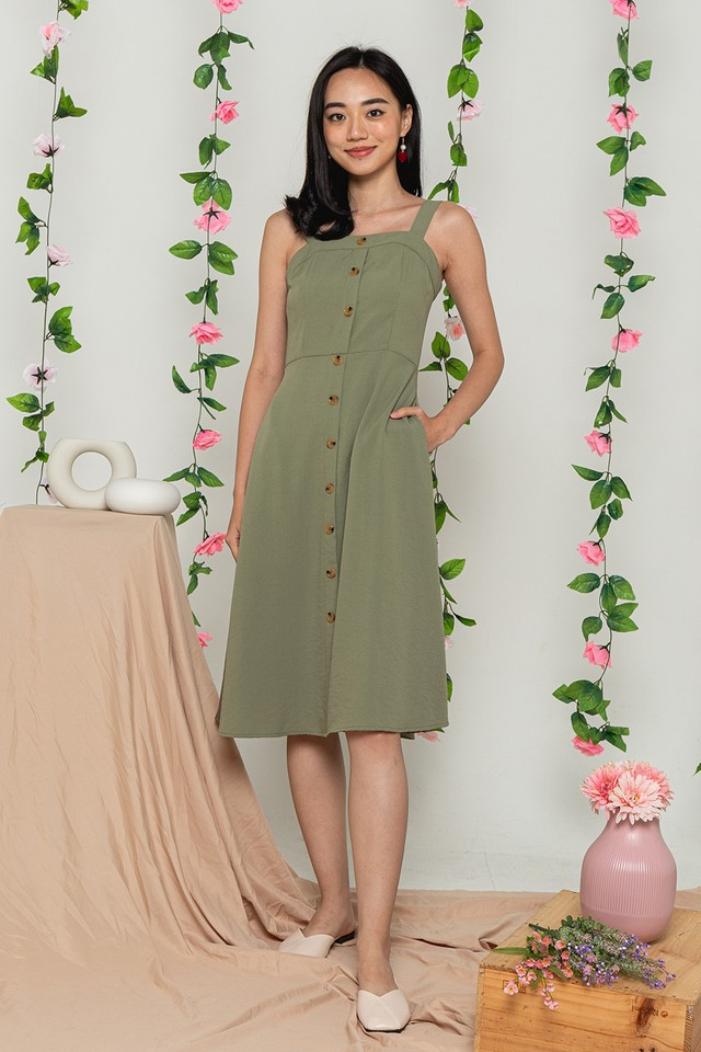 Sannah Dress Pistachio