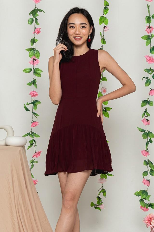 Averie Dress Wine