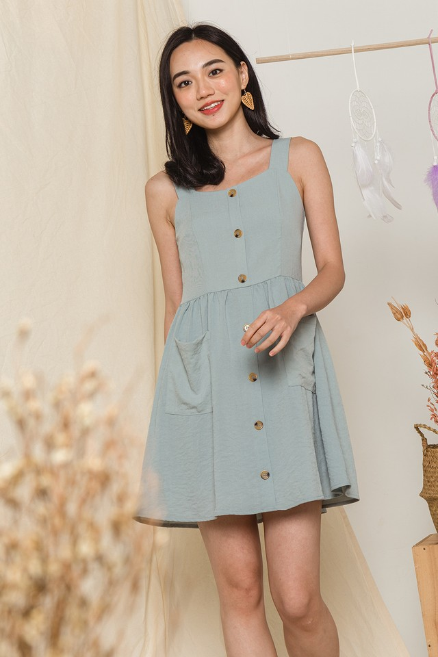 Toya Dress Seafoam