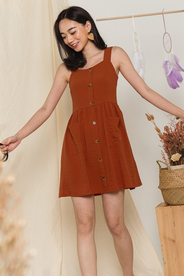 Toya Dress Mandarin