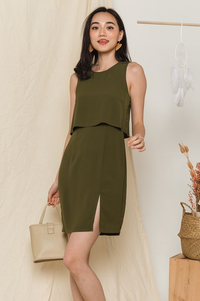 Yesenia Dress Olive