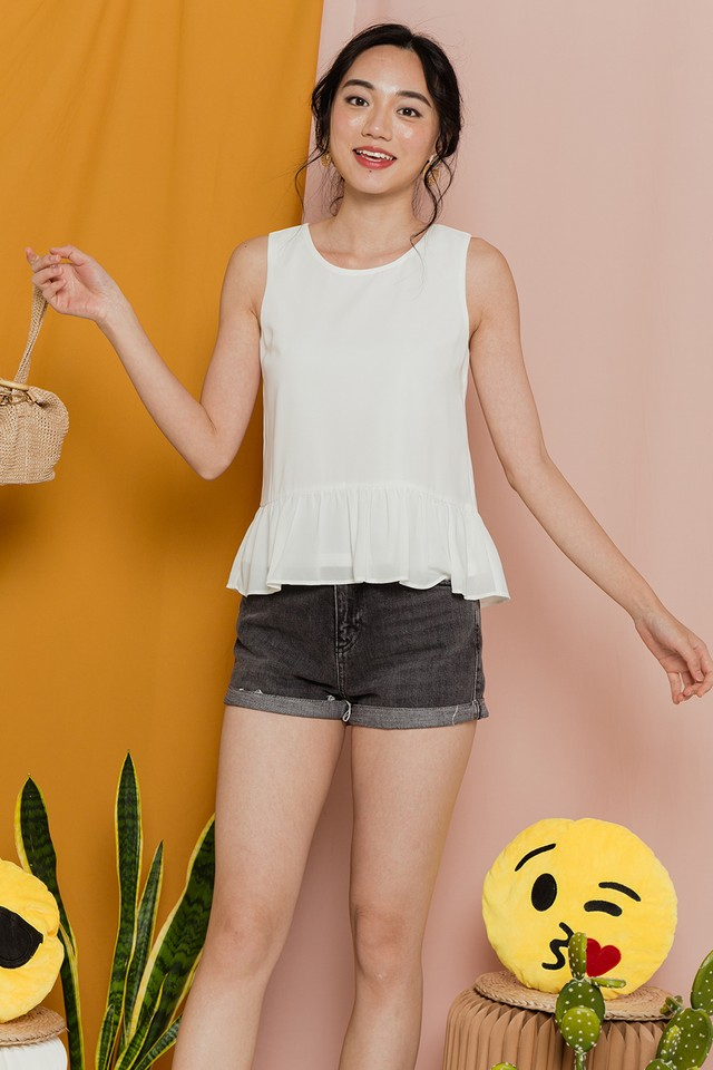 Kelly Top White