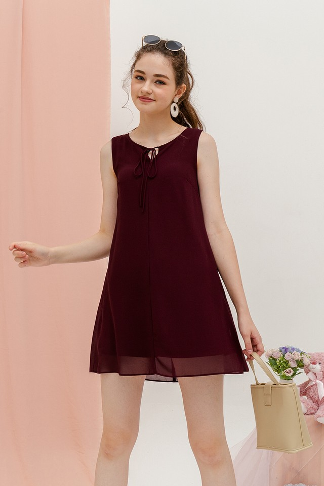 Rach Dress Burgundy