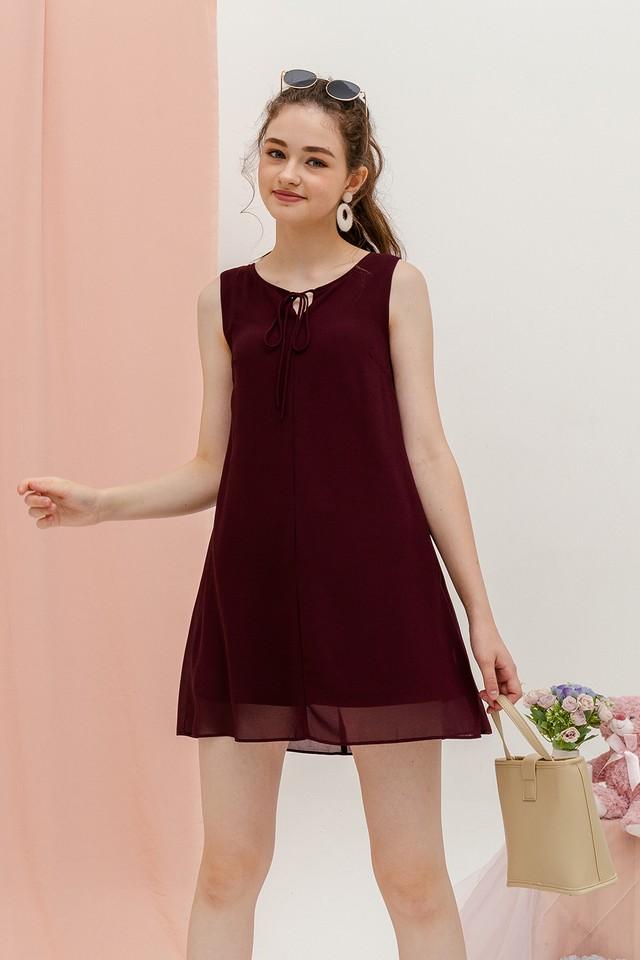 Rach Dress Burgundy