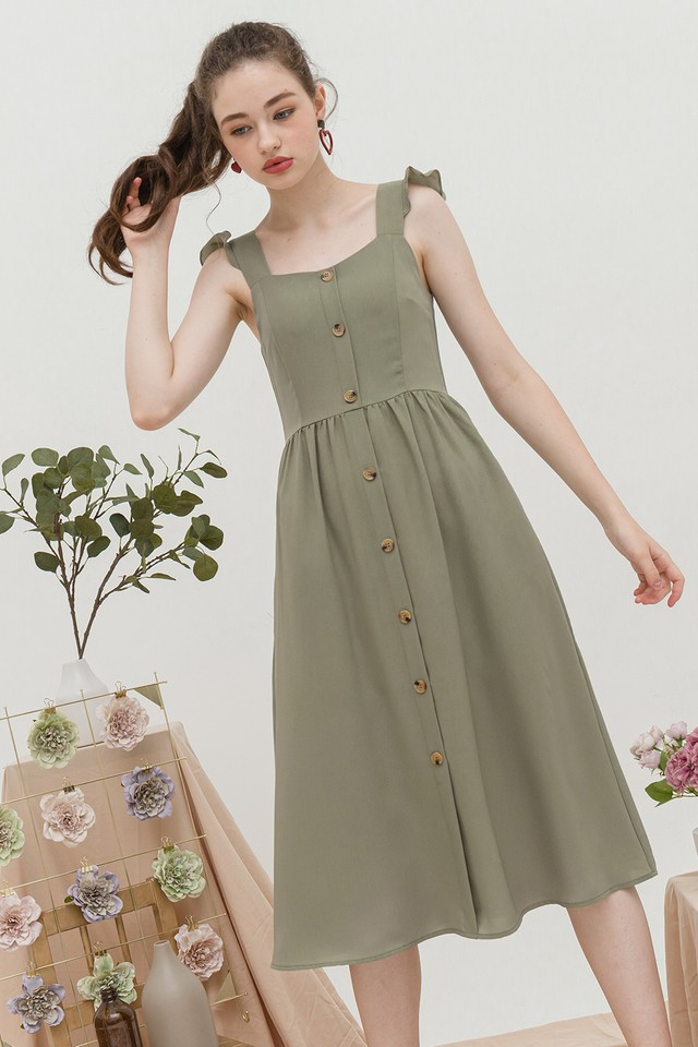 Briella Dress Sage
