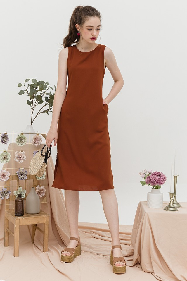 Edith Dress Mandarin