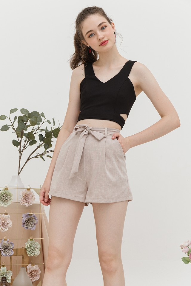 Jesse Shorts Sand Tweed