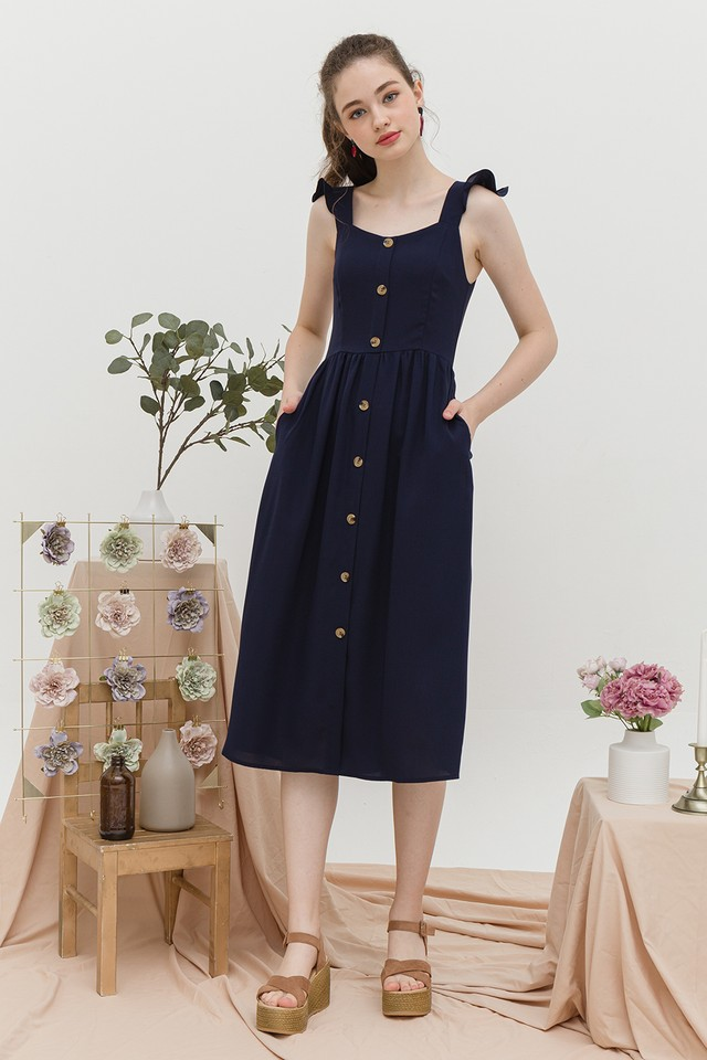 Briella Dress Navy
