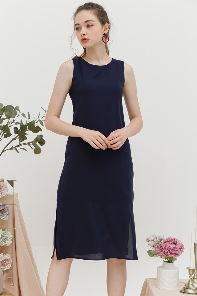 Edith Dress Navy