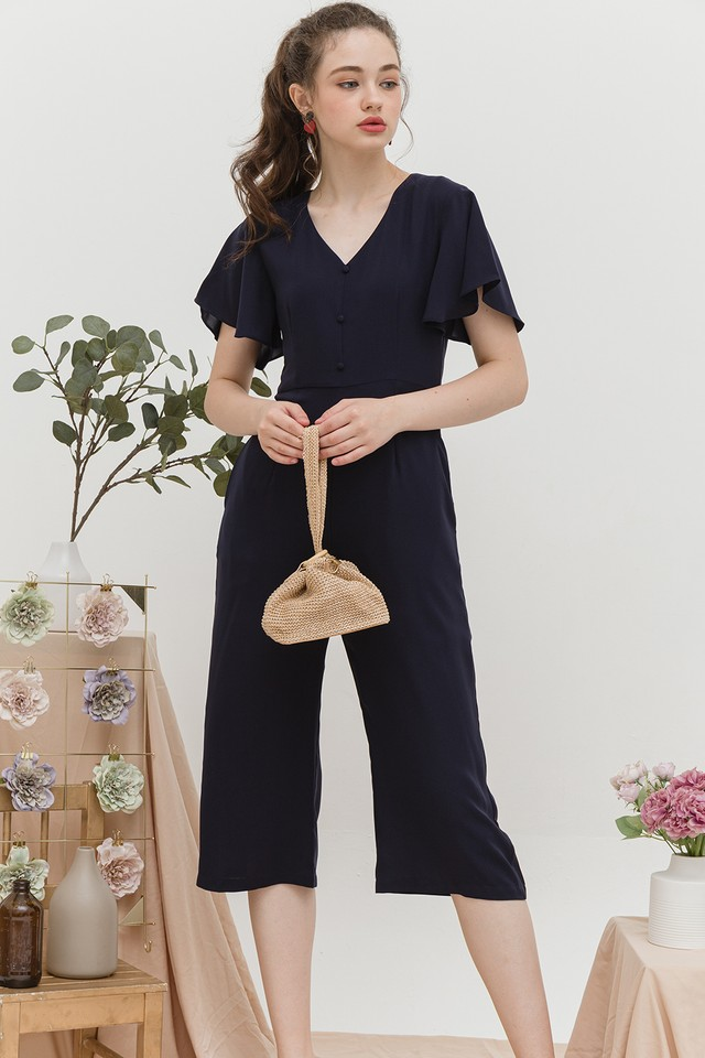 Addison Jumpsuit Navy