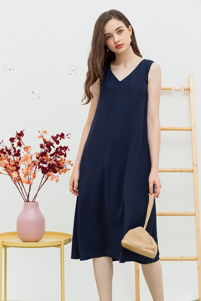 Carlynn Dress Navy