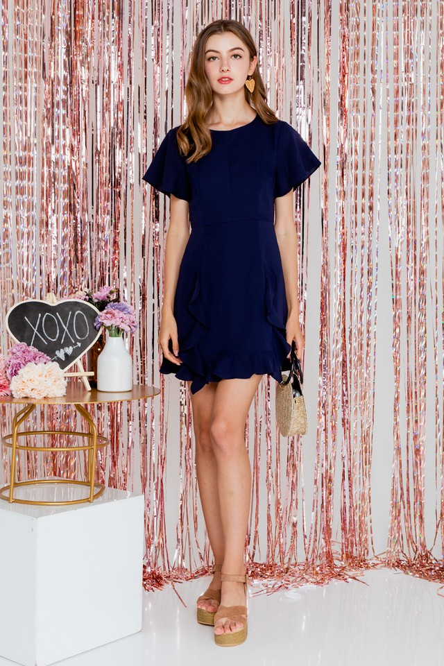 Ena Dress Navy
