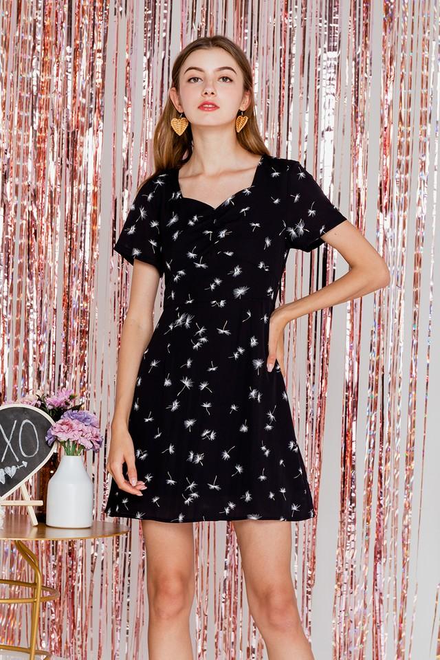 Janiya Dress Black Floral