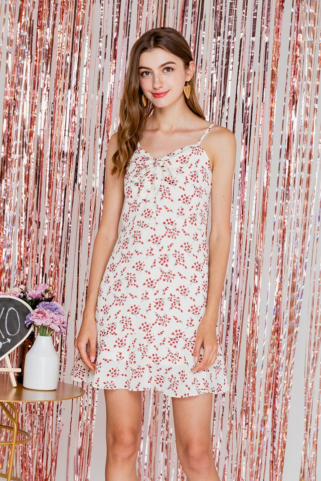 Kasper Dress White Floral
