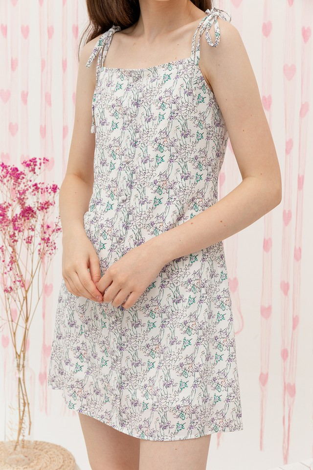 Antonia Dress White Floral