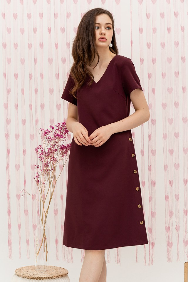 Tawana Dress Burgundy