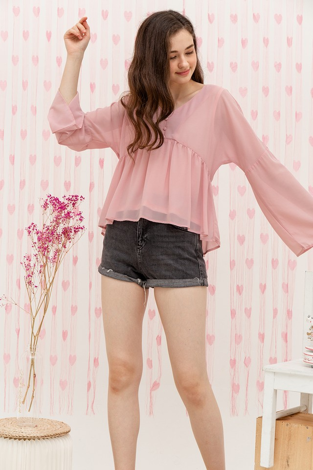 Bellatrix Top Pink