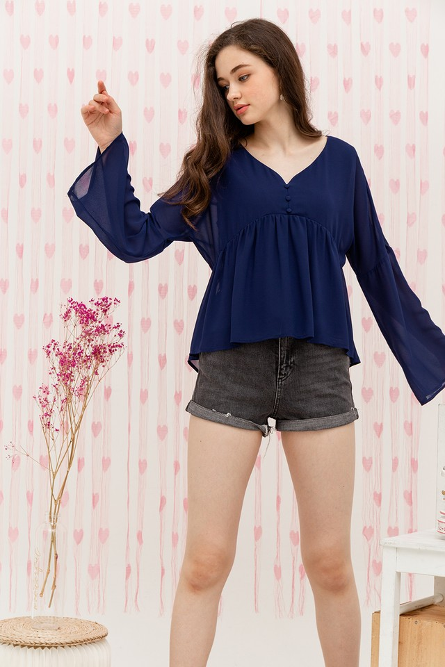 Bellatrix Top Navy